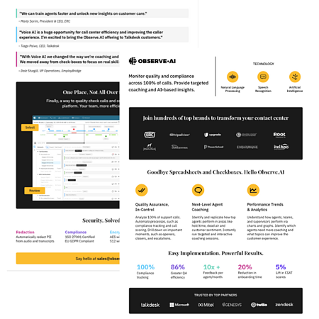 observeai product datasheet preview